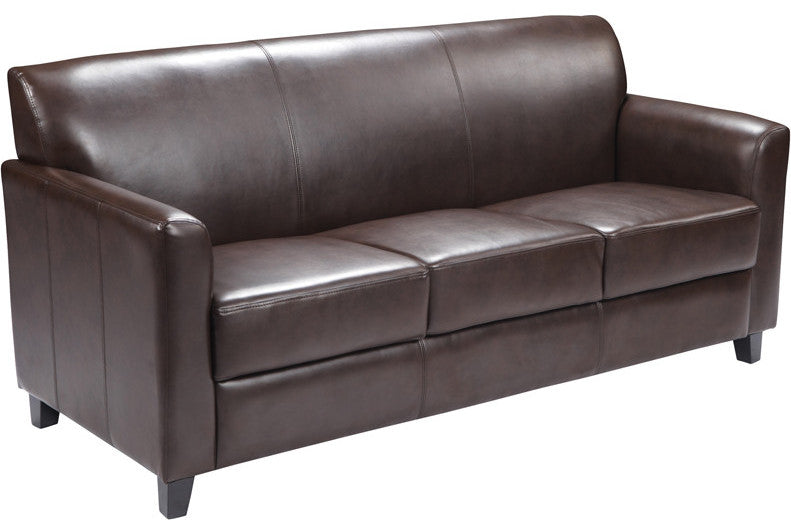 HERCULES Diplomat Series Brown LeatherSoft Sofa