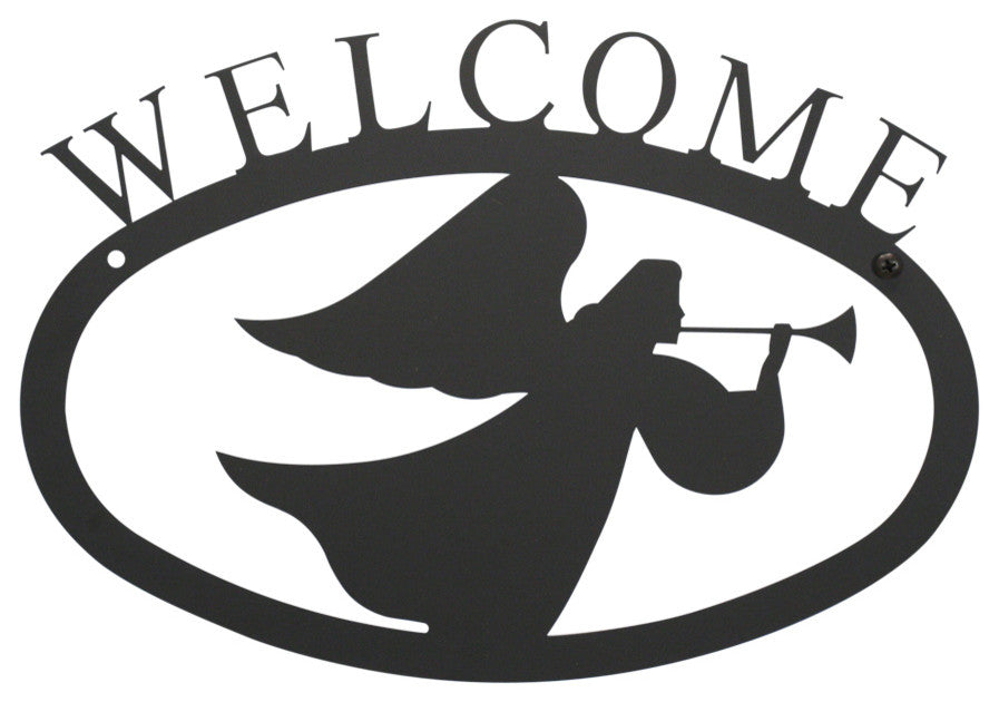 Welcome Sign, Small, Angel