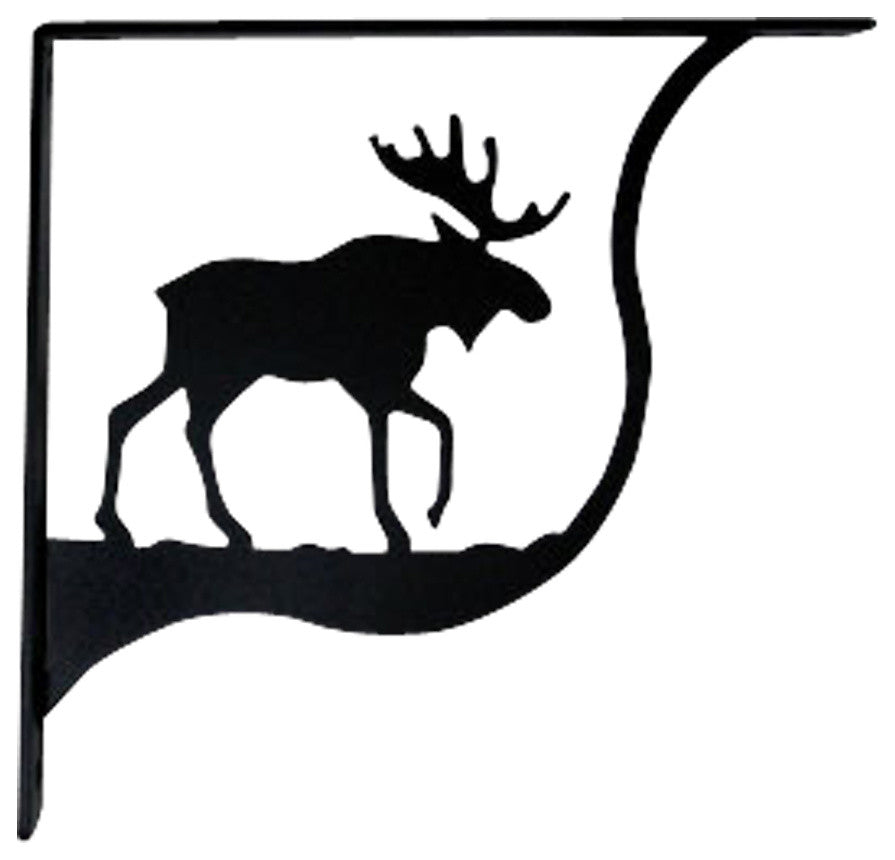 Moose Shelf Brackets, Medium