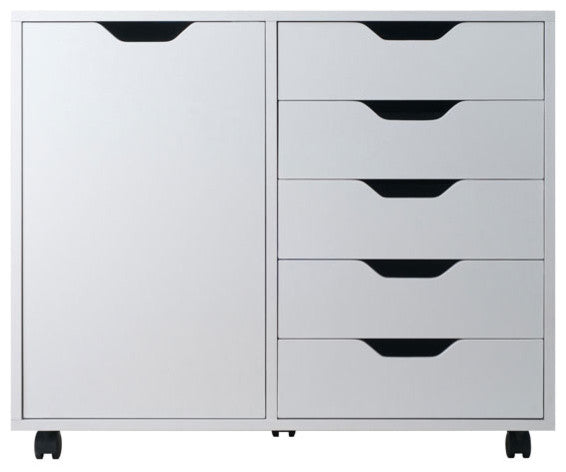 Halifax Cabinet, White Finish - Pot Racks Plus