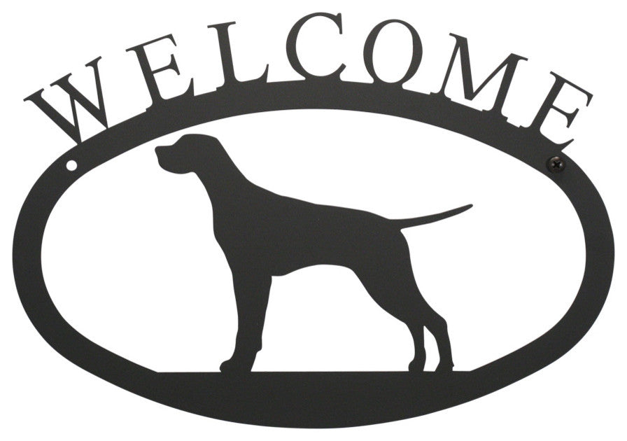 Welcome Sign, Small, Pointer