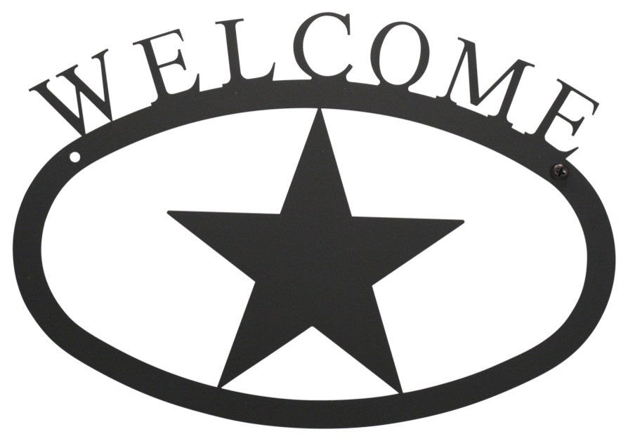 Welcome Sign, Small, Star