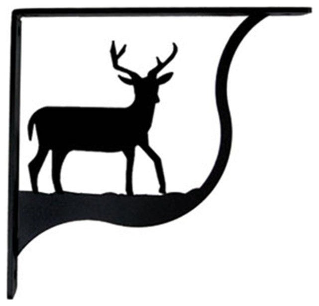 Deer Shelf Brackets, Medium