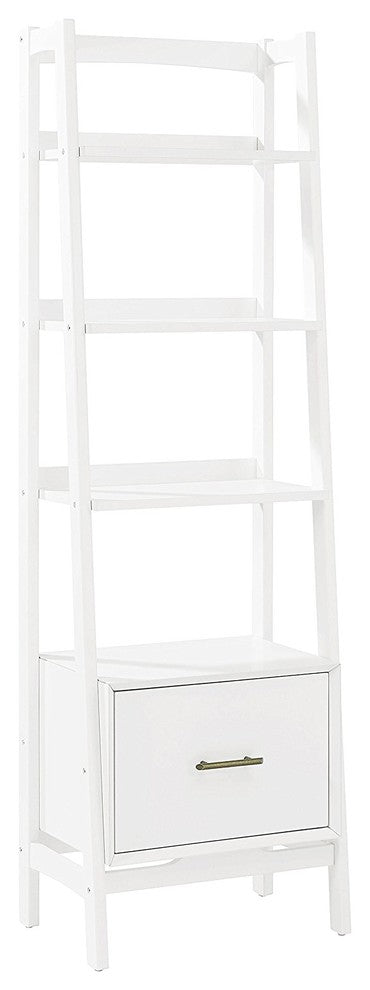 Landon Small Etagere, White - Pot Racks Plus