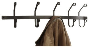 Coat Bar/Rack, 5 Hooks