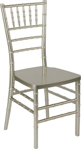 HERCULES PREMIUM Series Champagne Resin Stacking Chiavari Chair