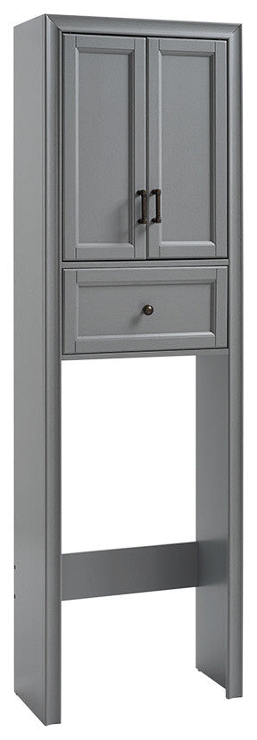 Tara Space Saver Cabinet, Grey - Pot Racks Plus