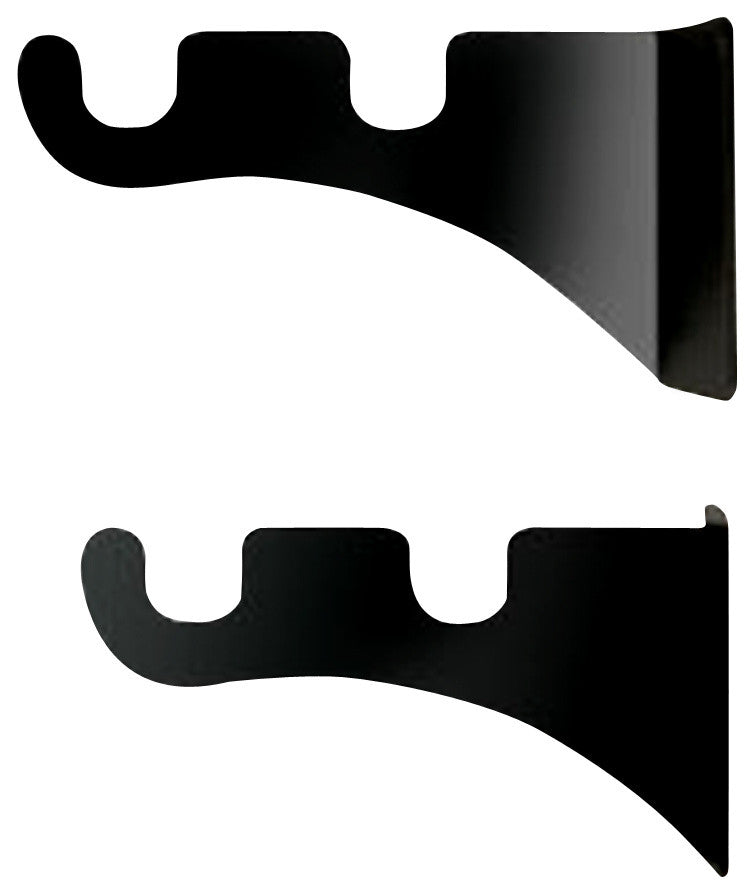 Curtain Brackets For Two 1/2 Inch Rods