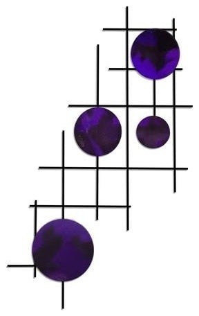 Satellite Circles, Candy Purple - Pot Racks Plus