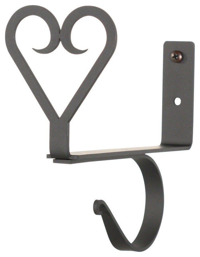 Heart, Curtain Shelf Brackets