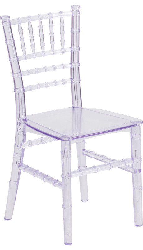 Flash Furniture   Kids Crystal Transparent Chiavari Chair - Pot Racks Plus