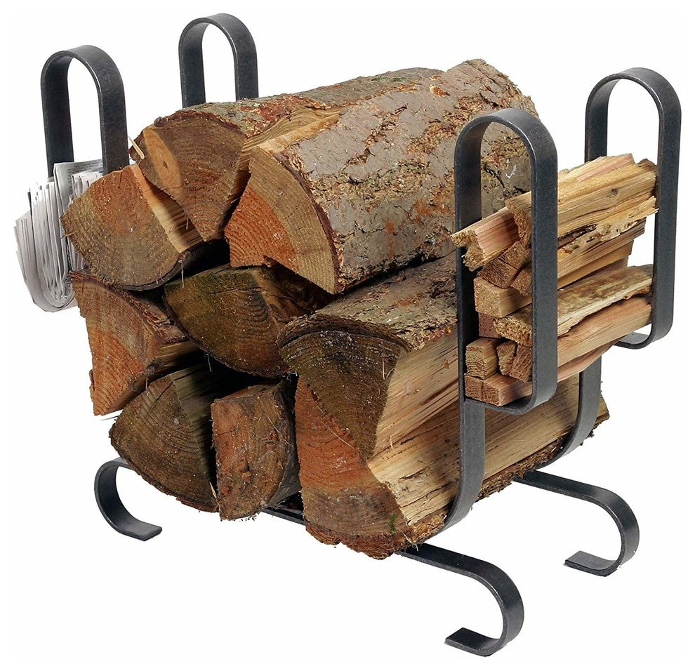 Modern Log Rack - Pot Racks Plus