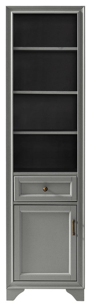 Tara Linen Cabinet, Gray - Pot Racks Plus