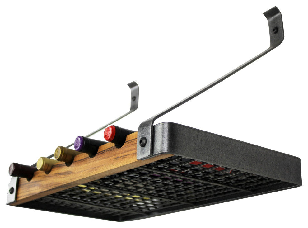"Signature 36"" Single Wine Rack With Tigerwood - Pot Racks Plus"