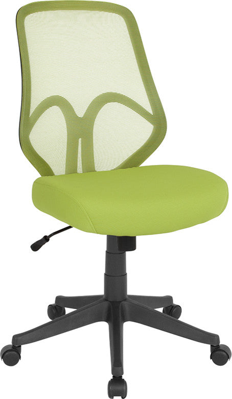 Salerno Series High Back Green Mesh Office Chair