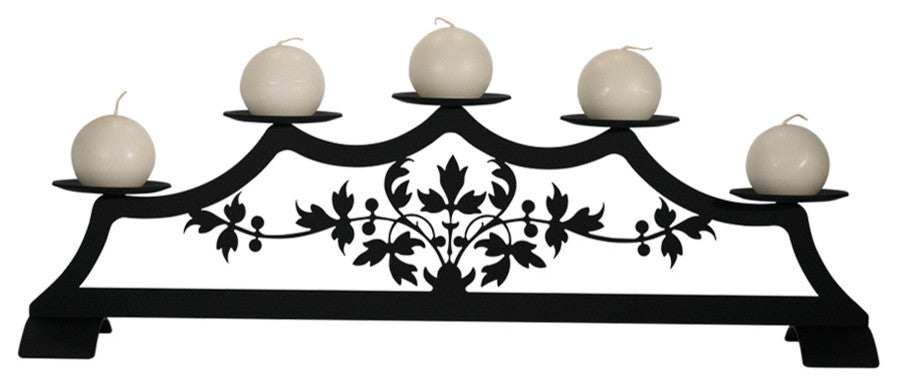 Victorian, Fireplace Pillar Candle Holder