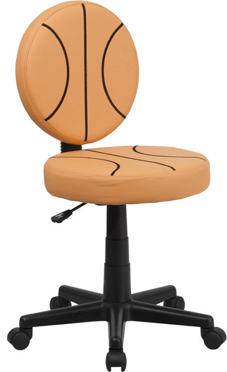 Basketball Swivel Task Office Chair