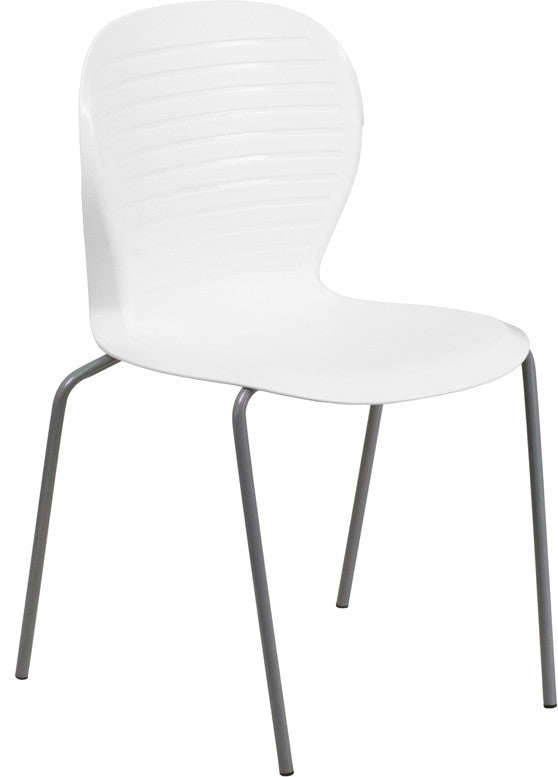 HERCULES Series 551 lb. Capacity White Stack Chair