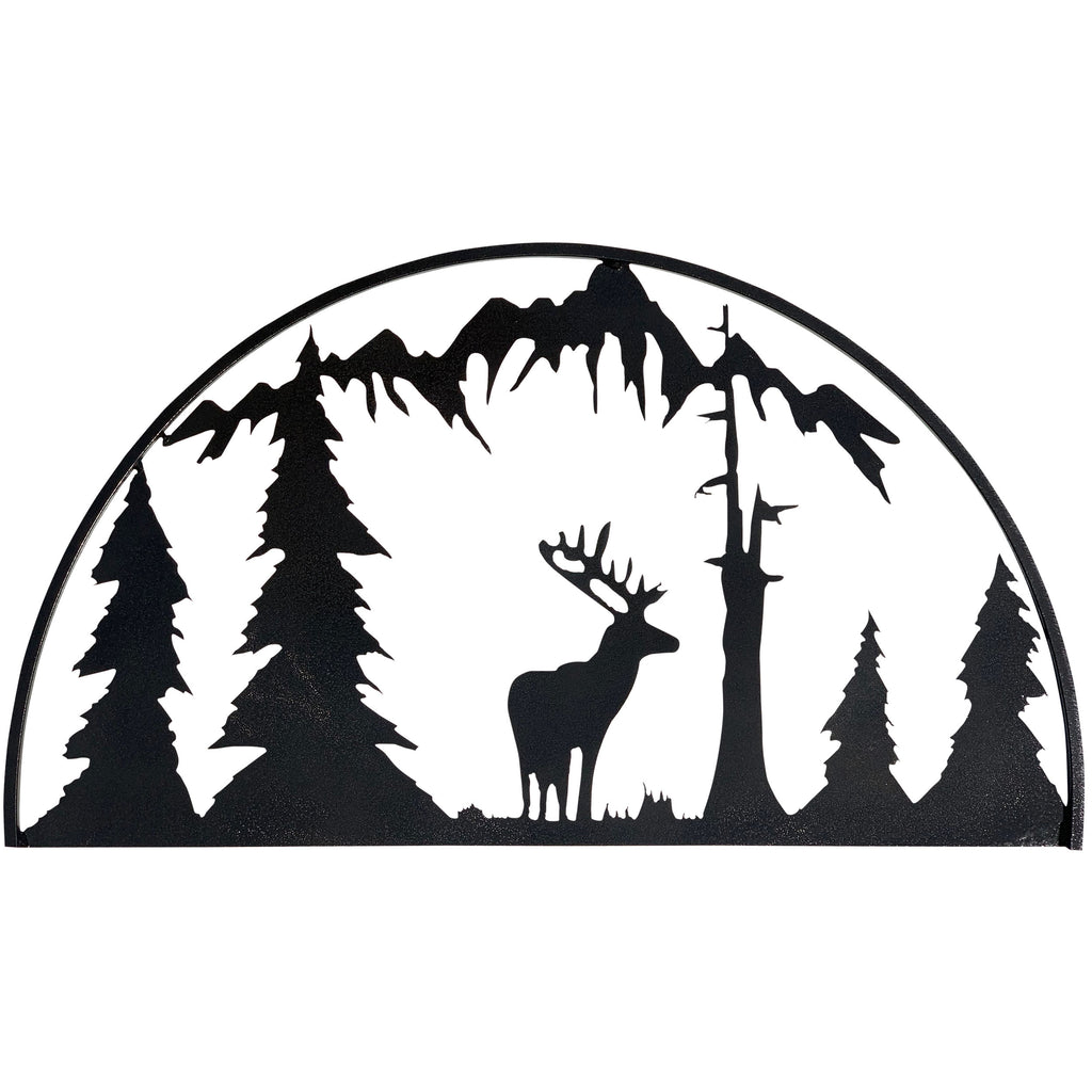 Elk Hoop-Hammered Black - Pot Racks Plus