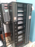Vending snack machine with bill changer