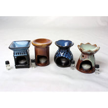 Porcelain Oil Burner - Assorted 4""