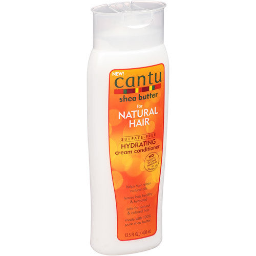 Cantu Shea Butter For Natural Hair Sulfate-Free Hydrating Cream Conditioner, 13.5 fl oz