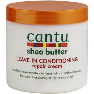 Cantu Conditioning Shea Butter leave-in conditioning  Repair Cream 16oz