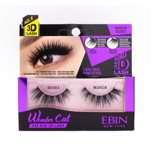 EBIN New York's 3D Wonder Cat Lashes