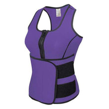 WOMENS CUT WEIGHT NEOPRENE SAUNA SUIT & WAIST TRIMMER