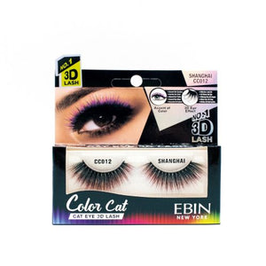 EBIN NEW YORK COLOR CAT EYELASHES