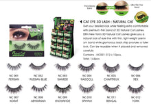 Ebin New York 3D Eyelash Natural Cat