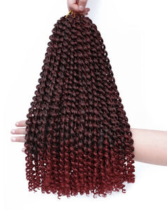 Passion Twist Crochets Braiding Hair