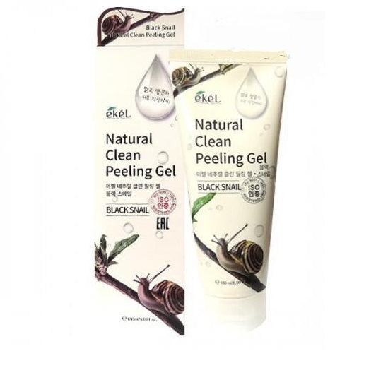 Ekel Natural Clean Peeling Gel Black Snail