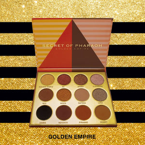 Ebin Eyeshadow Palette Secret of Pharaoh - Golden Empire