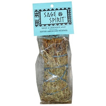 Sage Spirit, Native American Incense, Sage, Small (4-5 Inches), 1 Smudge Wand