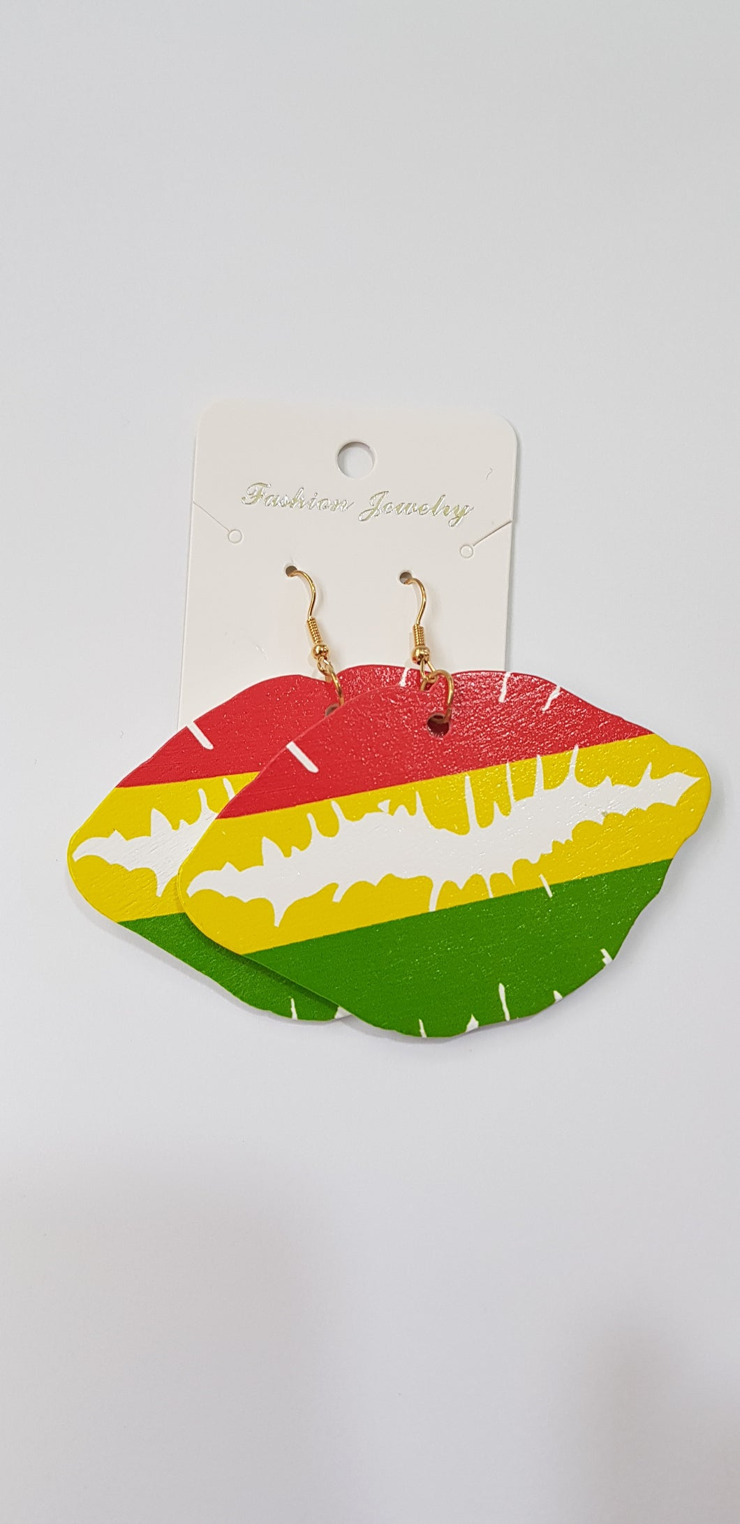 Colorful Woo Afro Earrings