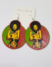 Soul Woman Wood Earrings