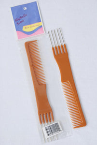 Pick & Comb 6inch Long Bone Color