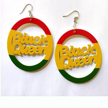 BLACK QUEEN RASTA Earrings