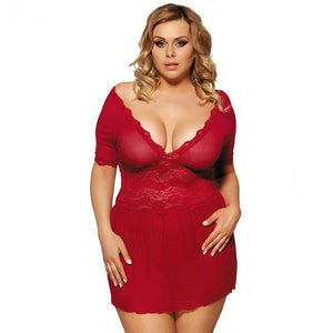 Babydoll With G-String Lingerie Set