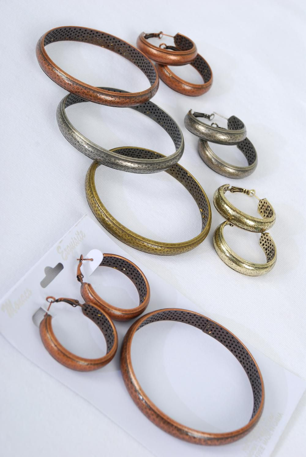 Bangle & Earring Sets Antique Finish