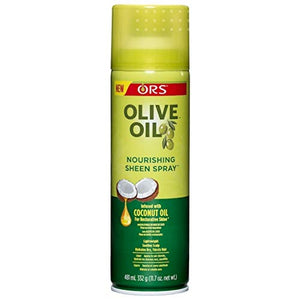 ORS Olive Oil Nourishing Sheen Spray infused with Coconut Oil