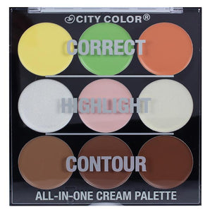 City Color Contour All-in-One Cream Palette