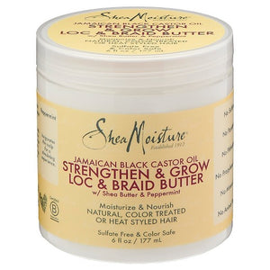 Shea Moisture Jamaican Black Castor Oil Loc & Braid Butter