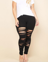 Sizzling Hole leggings