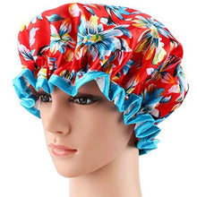 Waterproof - Double Layer Shower Cap
