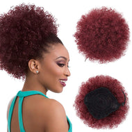 Afro Kinky Curly Hair Ponytail
