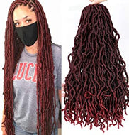Nu Locs Crotchet Braiding Hair 24inch