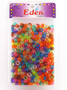 Eden Pony Braiding Hair Beads Transparent