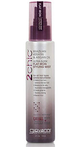 GIOVANNI Ultra-Sleek Flat Iron Styling Mist, 4 Oz